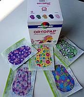 Итальянский гипоаллергенный детский глазной пластырь - окклюдер Ortopad серия Bamboo для девочек