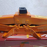 Домкрат автомобильный ромб 2т (ручка) Elegant, фото 3