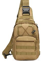 Сумка тактическая, плечевая MOLLE/PALS D5 Column B14/Protector Plus X201 ОЛИВА (ХАКИ)