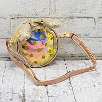 Сумка детская bag with ears gold