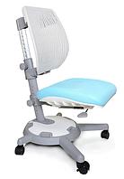 Кресло Mealux Ultraback KBL (арт.Y-1018 KBL) спинка белая / обивка голубая