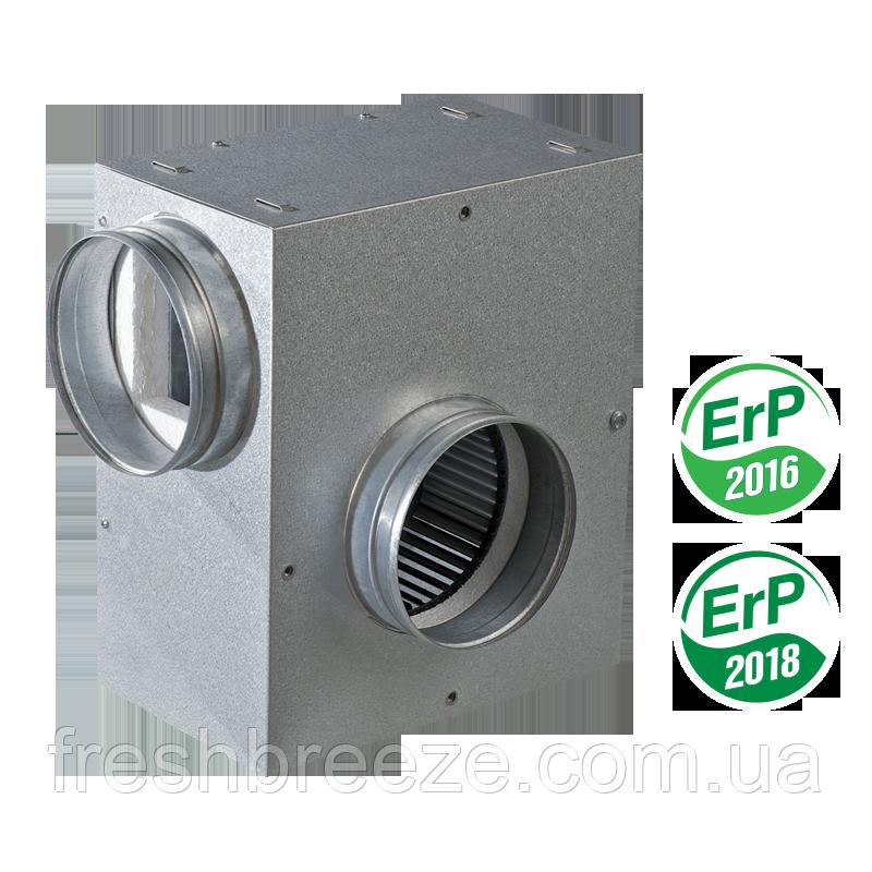 Центробежный шумоизолированный вентилятор вентс КСА 100-2Е У1н