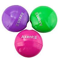 Точилка с контейнером, 1 отверстие, ассорти цветов, AXENT