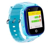 Умные детские часы с видеозвонком Tiroki Q500(DF33) 4G синие, фото 1