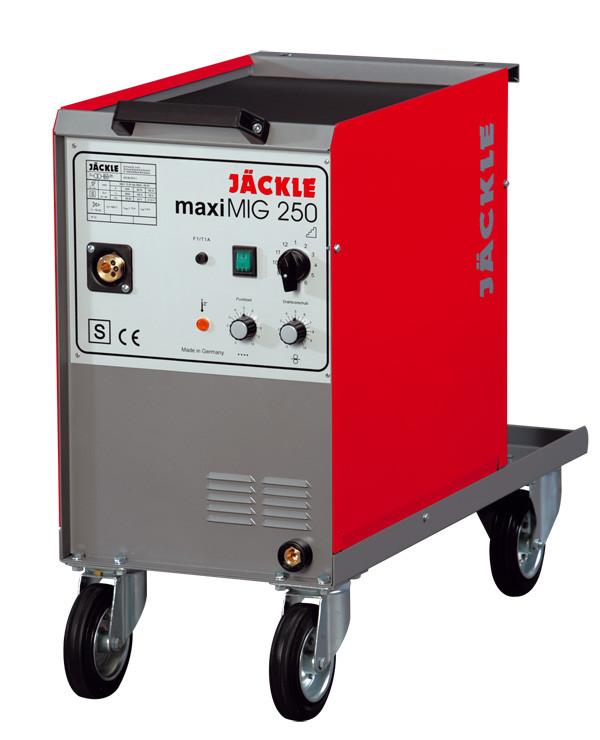 Зварювальний напівавтомат maxiMIG 250, повітряне охолодження, JACKLE