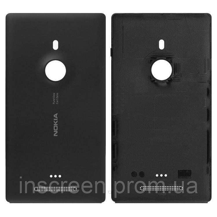 Задня кришка Nokia Lumia 925 чорна Оригінал Китай