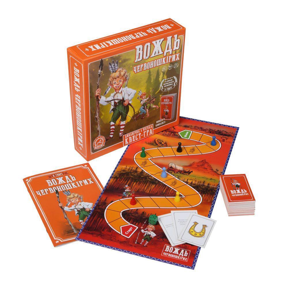 Настольная карточная игра Вождь Краснокожих Arial 911487