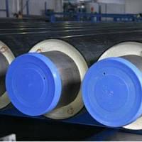 Предварительно изолированная стальная труба ø 57/125 в оболочке (ПЭ, СПИРО)