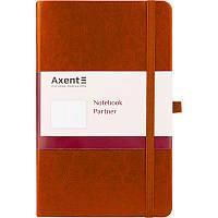 Книга записная Partner Lux, 125*195, 96л, кл, кор, AXENT, 8202-19-A