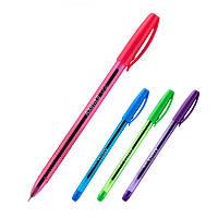 Ручка масляная Line, синяя, AXENT, AB1060-02-A