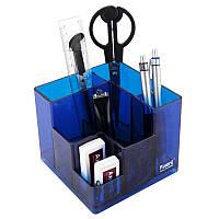 Набор настольный Cube, в коробке, синий, AXENT, 2106-02-A