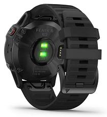 Смарт-годинник Garmin fenix 6 Pro - Black with Black Band, фото 3