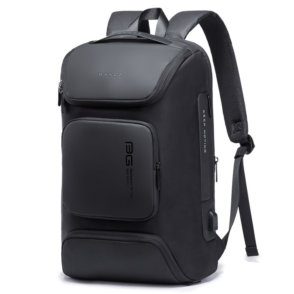 """Дорожный рюкзак Bange BG7078, USB порт, четыре кармана, два отделения, для ноутбука до 15,6"""", 28л"""
