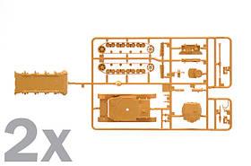 SD. KFZ. 161 PZ. KPFW. IV AUSF.F1/F2. Сборная модель танка. Быстрая сборка. В наборе 2 модели. ITALERI 7514, фото 3