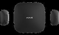 Ajax Hub Plus Інтелектуальна централь другого покоління Чотири канали зв'язку Ethernet Wi-Fi 2G/3G, фото 1