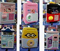 Электронная копилка-сейф для детей Разные цвета и модели