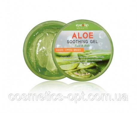 Успокаивающий гель с алое вера EYENLIP Aloe Soothing Gel Face & Body, 300 мл
