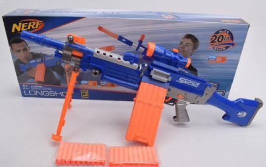 Детские игрушки оружие с пульками.Игрушечный космический бластер.