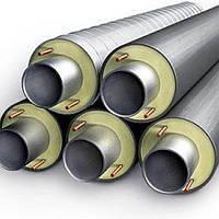 Теплоизолированные стальные трубы 76/140 в оболочке (ПЭ; СПИРО)