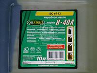 Масло индустриальное OIL RIGHT И-40А (Канистра 10л), 2595