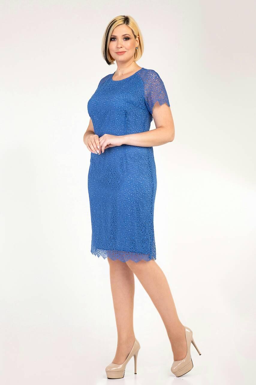 Романтичное летнее гипюровое платье