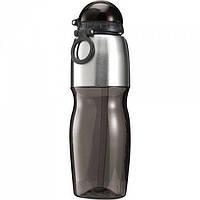 Спортивная бутылка из пластика и нержавеющей стали, 800 мл.