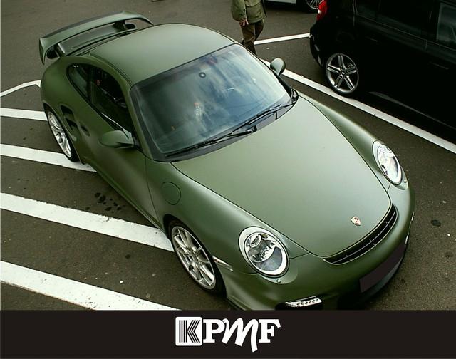 Зелёная матовая пленка KPMF Matt Green К89077