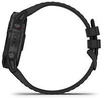 Смарт-годинник Garmin fenix 6X Pro - Black with Black Band, фото 2