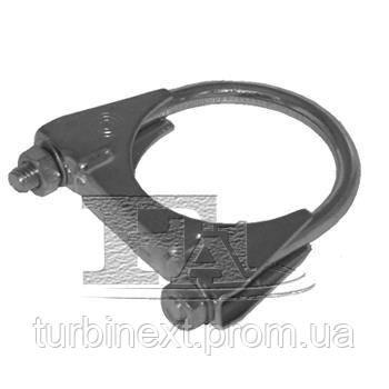 Хомут-зажим глушителя металлический FISCHER 913-952