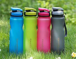 Велофляга спортивная пластмассовая KZY ALL-8042 (1000 мл / 4 расцветки)