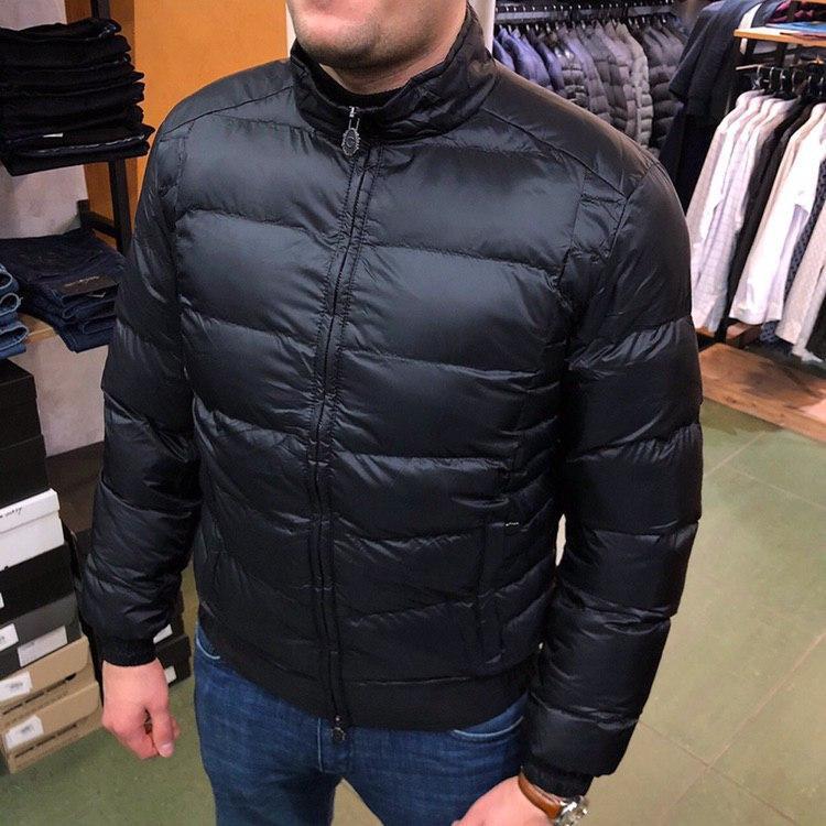 Куртка мужская Ganiani P0296 черная