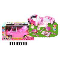 Автомобиль LOL с набором аксессуаров и куклой LOL