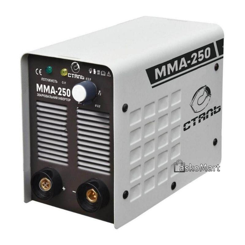 Сварочный инвертор 20-250 А, Сталь ММА-250 (69782)