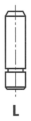 Направляющая клапана RENAULT 11 19 I VOLVO 340-360 FRECCIA G2571