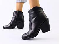 Зимние ботинки на каблуке, платформе