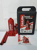 Домкрат гідравлічний CarLife BJ403P 3т 180/340мм