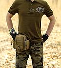 Поясная / наплечная тактическая сумка Protector Plus Y117, фото 2