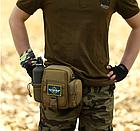 Поясная / наплечная тактическая сумка Protector Plus Y117, фото 5