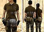 Поясная / наплечная тактическая сумка Protector Plus Y117, фото 7