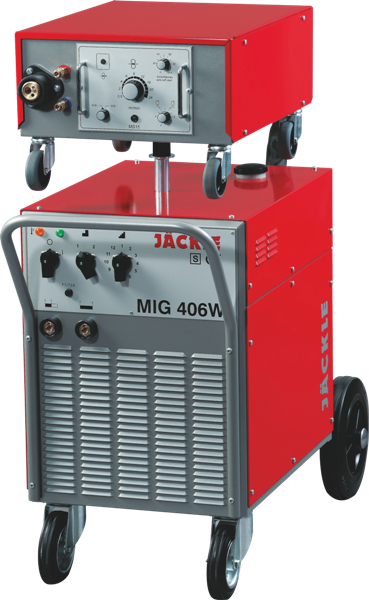 Сварочный полуавтомат MIG 406 W, жидкостное охлаждение, JACKLE