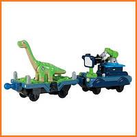 Прицеп Чаггингтон с динозавром и прицеп с камерой Chuggington LC54075