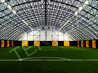 Тентові Ангари для Накриття  футбольного поля