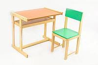 Детская парта со стульчиком 32 см для детей от 6 до 8 лет