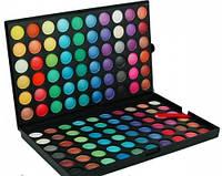 Профессиональная палитра теней для век MAC 120 цветов №2 (полноцветные), фото 1