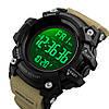 SKMEI 1384 Хаки спортивные мужские часы песочные, фото 2
