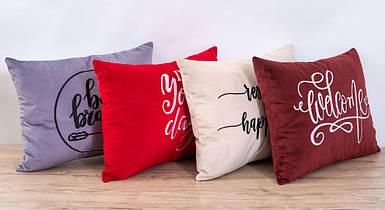 Подушка декоративная Richman с вышивкой