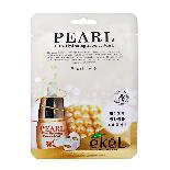 Выравнивающая тон тканевая маска с жемчугом EKEL Ultra Hydrating Essence Mask Pearl, фото 2