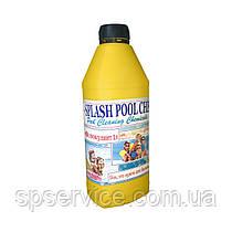 Жидкий коагулянт (флокулянт) для очистки и осветления мутной воды в бассейне Сплеш 1 л