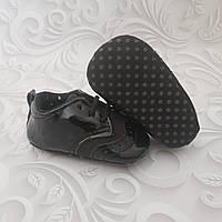 Черные лаковые пинетки,туфли оксфорд, фото 1