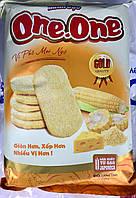 Рисовое печенье One-One Gold с кукурузой 122г. (Вьетнам)